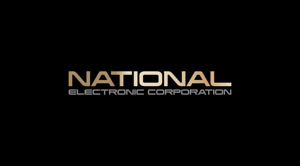 "Логотип японского производителя электроники ""National"""