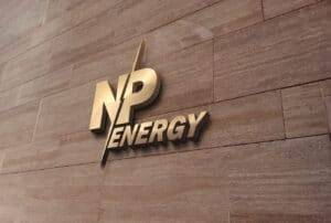 Визуализация логотипа NP-Energy
