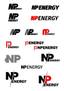Первая итерация разработки логотипа