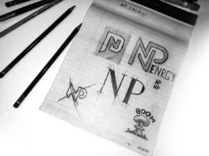 Первоначальный эскиз лого