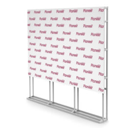 Press Wall для компании Pioneer