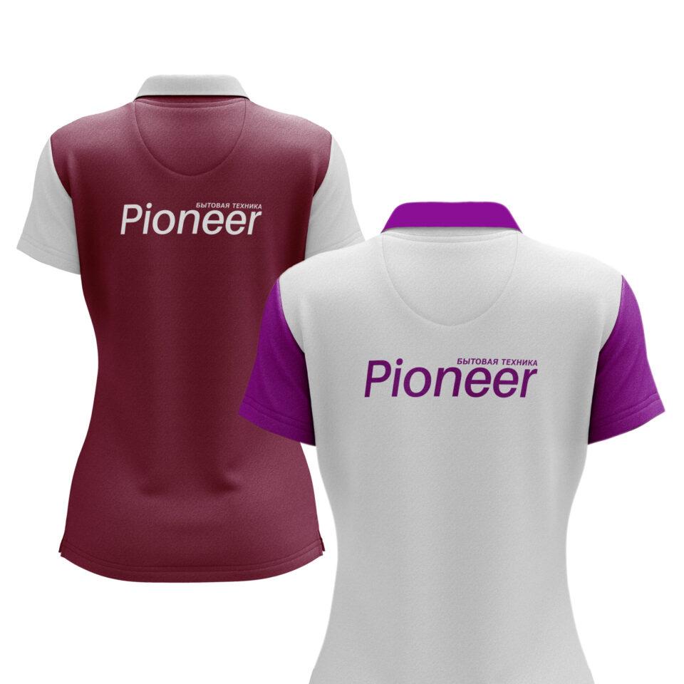 Футболки брендированные для компании Pioneer